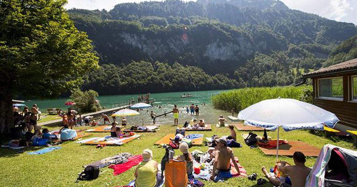 Kleiner Kühlschrank Schweiz : Die schönsten campingplätze in der schweiz blick