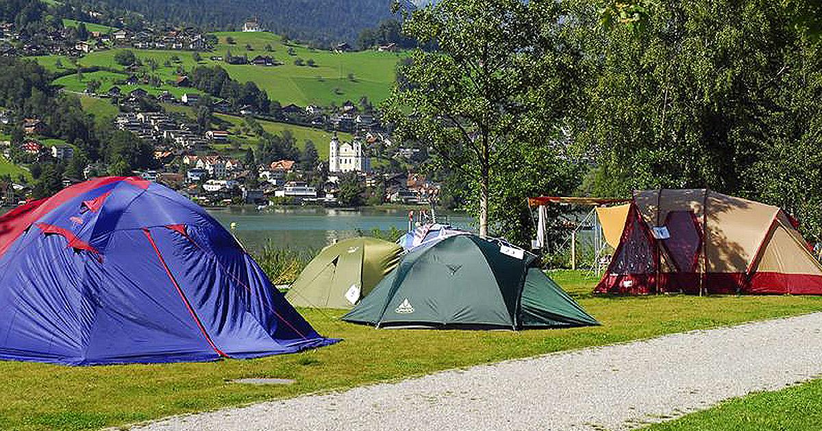 Die 12 Schönsten Campingplätze In Der Schweiz Blick