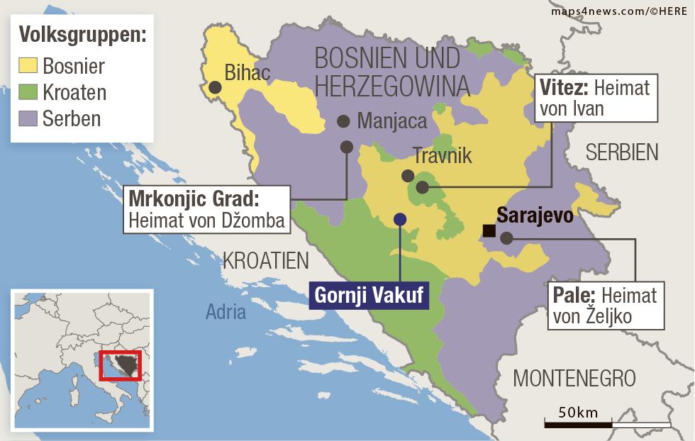 Jugoslawien Karte 2018.Blick Special Die Entschärfer Vier Freunde Im Minenfeld